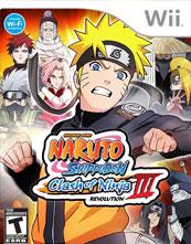 Naruto Shippūden: Clash of Ninja Revolution 3 cover