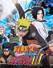 Naruto Shippūden: Shinobi Retsuden 3 cover