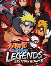 Naruto Shippūden: Legends: Akatsuki Rising cover