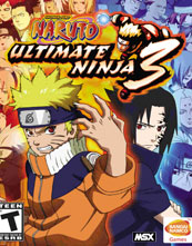 Naruto: Ultimate Ninja 3 cover