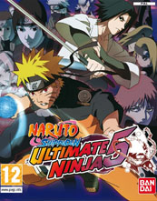 Naruto Shippūden: Ultimate Ninja 5 cover