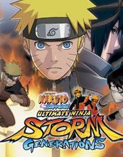 Naruto Shippūden: Ultimate Ninja Storm Generations cover