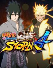 Naruto Shippūden: Ultimate Ninja Storm 4 cover