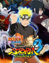 Naruto Shippūden: Ultimate Ninja Storm 3 Full Burst cover