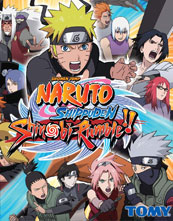 Naruto Shippūden: Shinobi Rumble cover