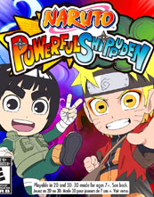Naruto: Powerful Shippūden cover