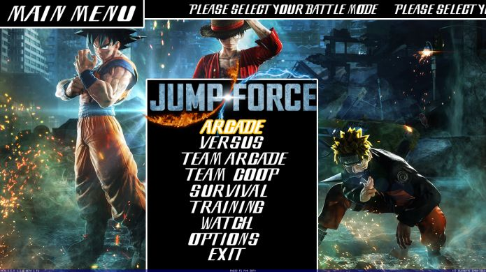 Jump Force Mugen - Screenshot