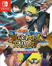 Naruto Shippūden: Ultimate Ninja Storm Trilogy cover