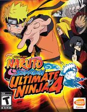 Naruto Shippūden: Ultimate Ninja 4 cover