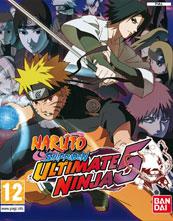 Naruto Shippūden: Ultimate Ninja 5 cover