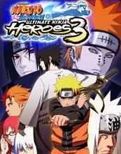 Naruto Shippūden: Ultimate Ninja Heroes 3 cover