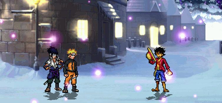 One Piece x Naruto Mugen 2