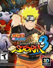 Naruto Shippūden: Ultimate Ninja Storm 3 cover