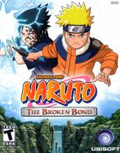 Naruto: The Broken Bond cover