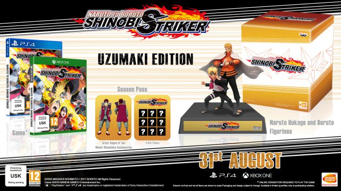 Naruto to Boruto: Shinobi Striker - Uzumaki Edition bonuses