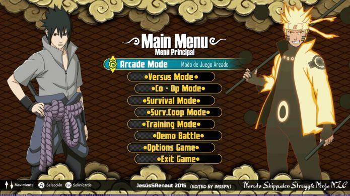 Naruto Shippuden Struggle Ninja NZC Mugen - Screenshot