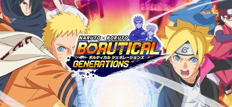 Naruto x Boruto: Borutical Generations new trailer and screenshots